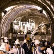 リニア新幹線のトンネル掘削現場を初公開 JR東海