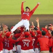 広島、2年連続8度目のリーグ優勝 2度目の連覇