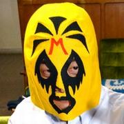 宮崎に謎のマスクマン 「どんげね」の愛、広げたい