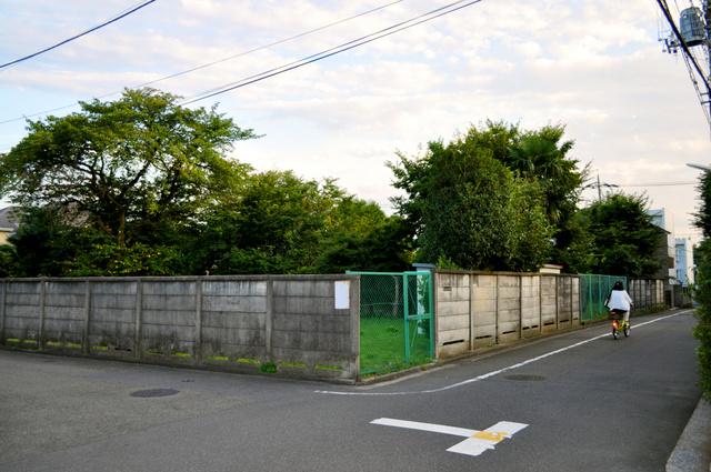 新設保育園が計画されている市有地=武蔵野市吉祥寺南町3丁目