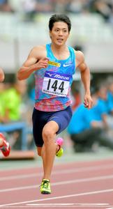 山県亮太が10秒00 男子100m、日本歴代2位タイ