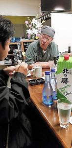 @北海道・根室 そば居酒屋 「棄権も白票も白紙委任になってしまう」