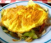 おかず・中身汁…うちなー大好き沖縄料理 豆腐は熱々で