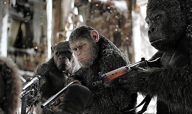 「猿の惑星:聖戦記(グレート・ウォー)」