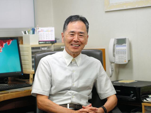 第69回保健文化賞を受賞する小笠原一夫さん=高崎市京目町