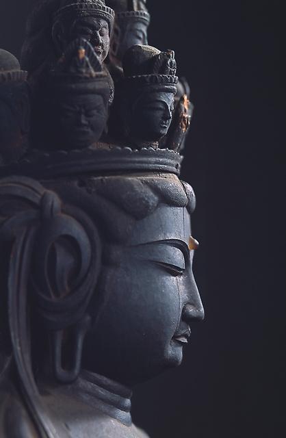 海住山寺奥の院の十一面観音立像=海住山寺提供