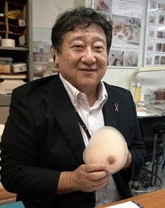 池山紀之さん 1958年名古屋市生まれ。池山メディカルの前身となる会社を2003年に起業。12年には乳がん患者に配慮した「ピンクリボンのお宿ネットワーク」を立ち上げた。