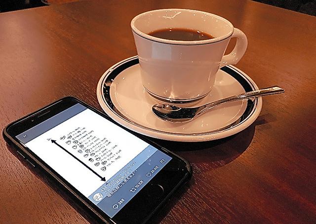 コーヒーツイートの情報を参考に飲んでみたコーヒー
