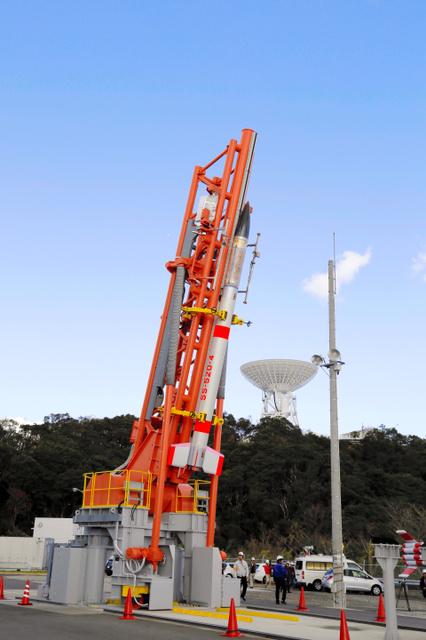 1月打ち上げに失敗した世界最小級ロケット「SS520」(宇宙航空研究開発機構提供)