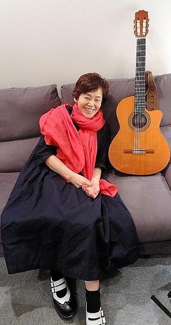 レコーディングに来てくれた山崎まさよしさんのギターと