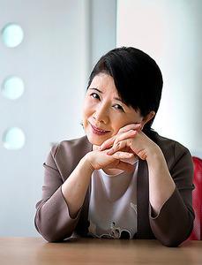 デビュー46周年のコンサートを各地で開いている森昌子さん=東京都渋谷区、村上健撮影