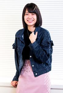 小田えりな〈AKB48〉 歌も芝居も、目標持って