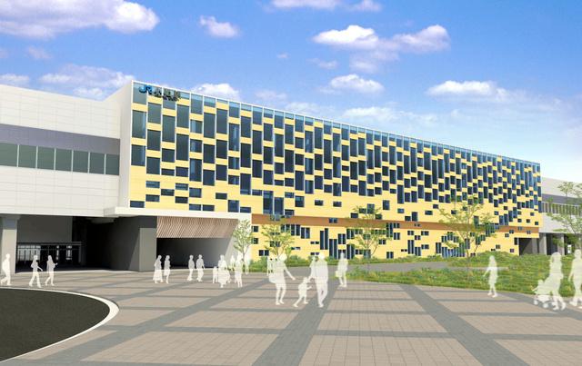 小松駅A案「積み重ねてきた伝統を未来へと発展させるターミナル」