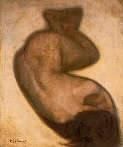 「裸婦」=笠間日動美術館蔵