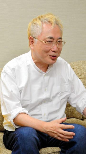 高須克弥院長=2016年12月、信原一貴撮影