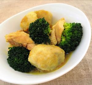 鶏と里芋の煮物 カレー風味