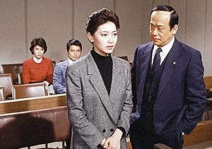 「妻は告白する」で難役を演じた夏目雅子(C)近藤照男プロダクション