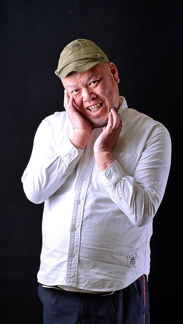 くっきーさん=門間新弥撮影