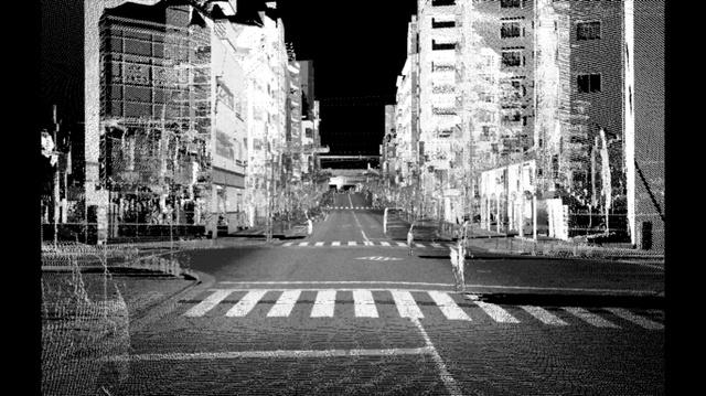 杉並区が作成したJR高円寺駅付近の3D地図
