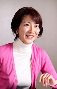 がんとの共生について語るタレントの向井亜紀さん=12月7日、東京都品川区、池田良撮影