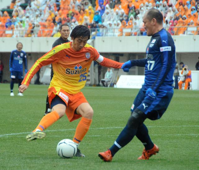 静岡)サッカー元日本代表市川大祐さん 清水で引退試合:朝日新聞デジタル