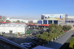 写真1 「CES 2018」のメイン会場となったラスベガスコンベンションセンター