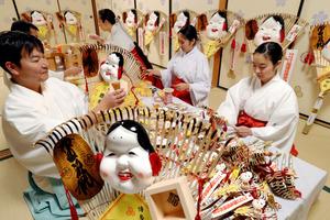「福がたくさん届きますように」 櫛田神社で節分準備