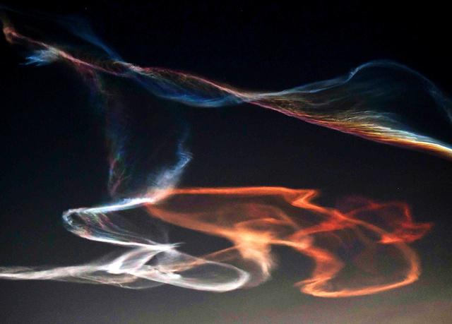 イプシロン打ち上げで「夜光雲」...