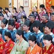 成人式、奈良・平安へタイムスリップ 国学院大で儀礼