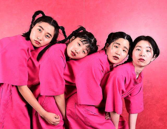 左からユナ、マナ、カナ、ユウキ=工藤隆太郎撮影