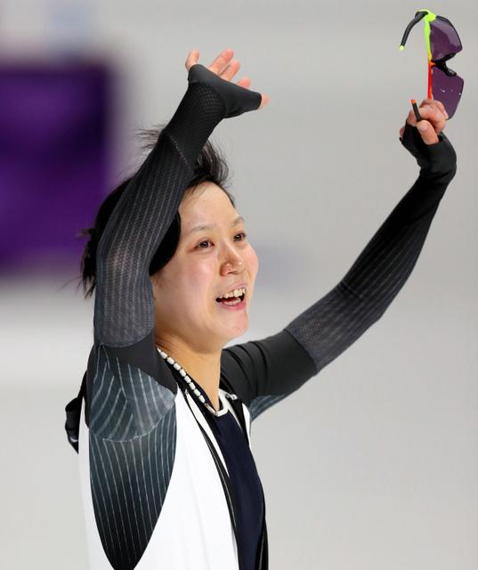 2018年平昌オリンピックのスピードスケート競技