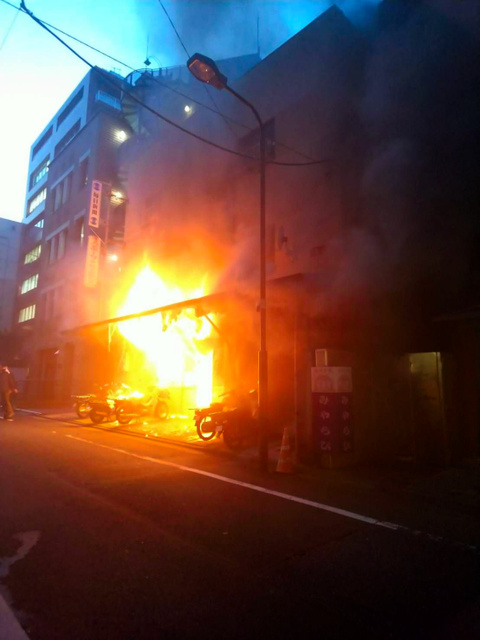 【東京】毎日新聞の配達員寮で火災 1人心肺停止 九段 靖国神社まで300Mの場所 ->画像>9枚