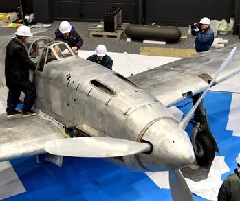 旧日本軍の戦闘機「飛燕」、製造の地・岐阜で3月公開
