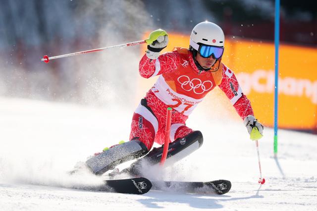 2018年平昌オリンピックのアルペンスキー競技