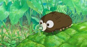 「毛虫のボロ」の主人公ボロ (C)2018 Studio Ghibli