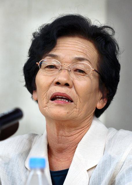 平島筆子さん(2003年当時)