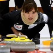 藤沢・山口組、全勝で決勝Tへ カーリング混合ダブルス