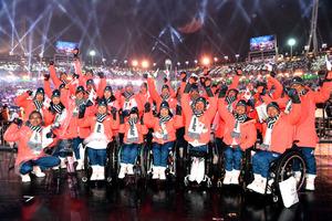 平昌パラリンピック閉幕 日本勢は金3個メダル計10個