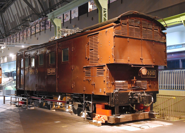 重文指定される見通しの「ED40形式10号電気機関車」=鉄道博物館提供