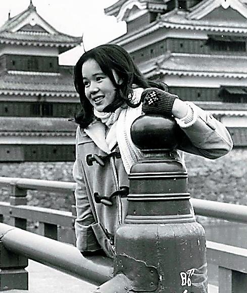 NHK連続テレビ小説「水色の時」に出演していた頃の思い出です
