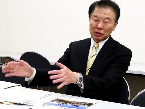 「国立のぞみの園」の前理事長、遠藤浩さん。「今後も民間の障害福祉団体をフィールドに、障害のある人たちの福祉向上に貢献したい」と話す=東京都