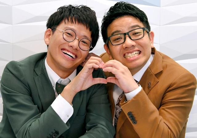 ミキ 兄弟漫才コンビ「ミキ」の(右から)昴生と亜生=筋野健太撮影
