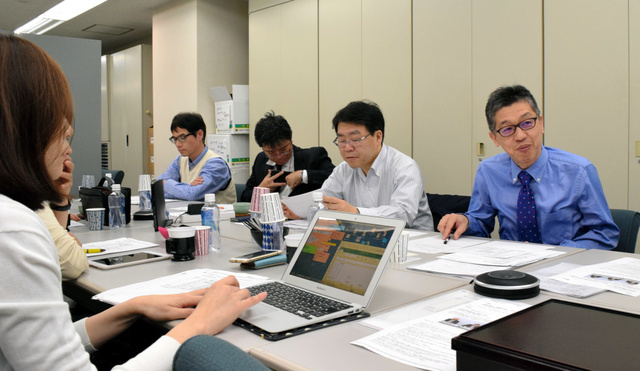 日本救急医学会は特別委員会を設けて医師の働き方改革について議論を始めた=東京都文京区の日本救急医学会事務所