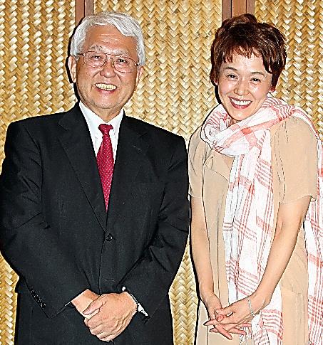 2009年、コンサートの打ち上げで熊谷さんと