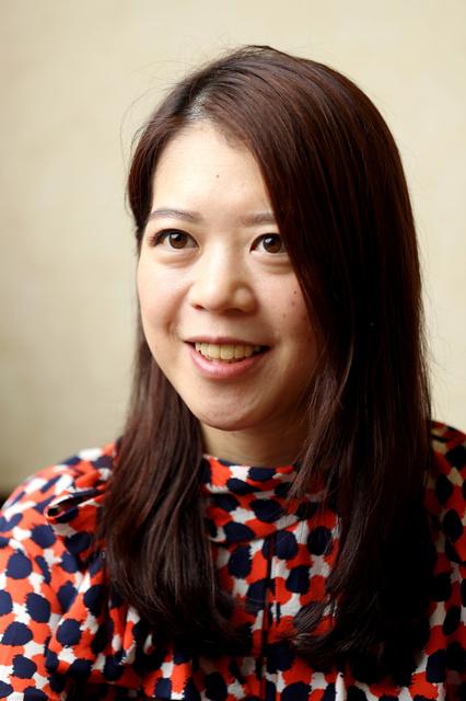 摂食障害に苦しんだ過去や、復活の歩みを語る鈴木明子さん=遠藤啓生撮影