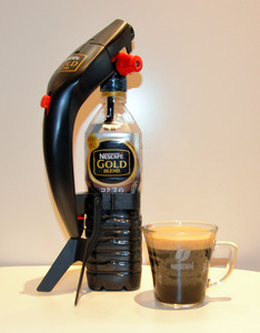 家庭で手軽に泡立ちコーヒー アイスクレマサーバー