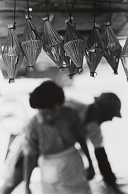岡本太郎「高知市本丁筋・火曜市 高知」(1957年8月13日)