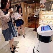 お探しの店、ロボットがご案内 名古屋パルコで実証実験