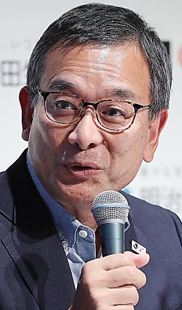 村井満さん