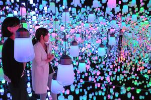 東京・お台場にデジタルアート美術館 森ビルとチームラボ